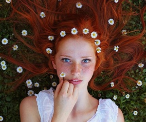 beauty, eyes, and nature image