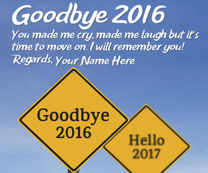 goodbye, images, and new year quotes image
