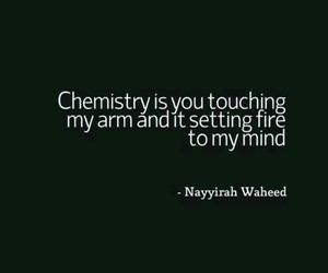 chemistry, touch, and words image