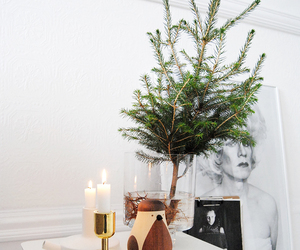 candles, christmas, and design image