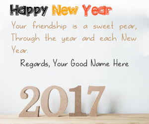 friendship, happy new year, and new year image