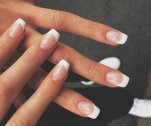 fashion, glamour, and french manicure image