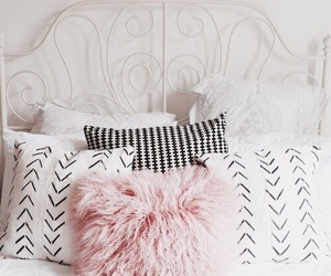 decor, bed, and pillow image