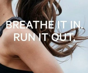 breathe, fitness, and running image