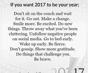 2017, goals, and life image