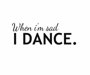 dance and sad image