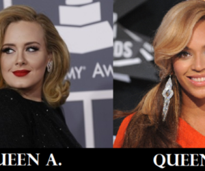Adele, grammys, and beyoncé image