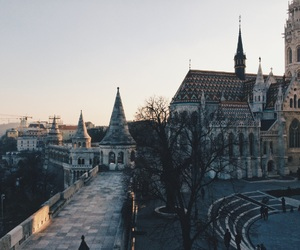 architecture, hungary, and traveling image