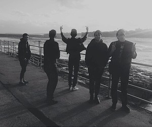 the neighbourhood, black and white, and jesse rutherford image