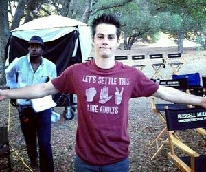dylan o'brien, stiles stilinski, and teen wolf image