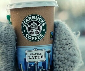 coffee, december, and gloves image