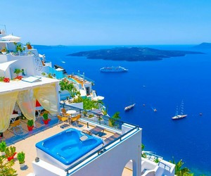 Greece, sea, and summer image