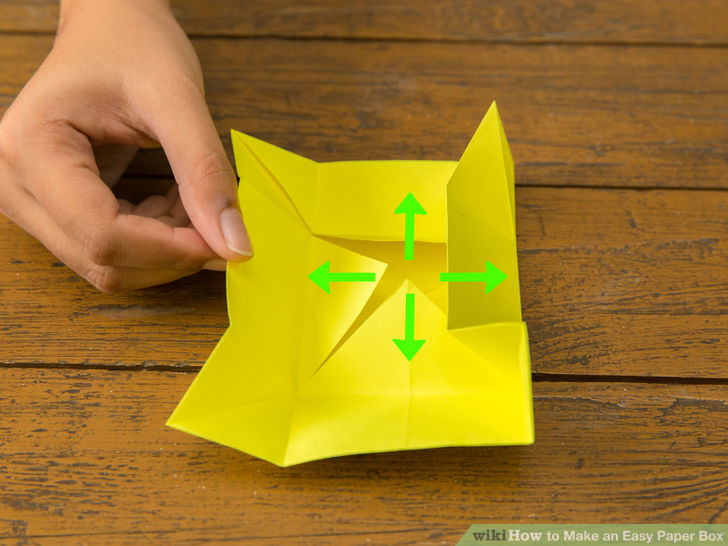 How to Make an Origami Star Box (with Pictures) - wikiHow | 546x728