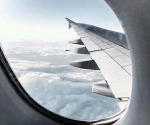 adventure, plane, and sky image