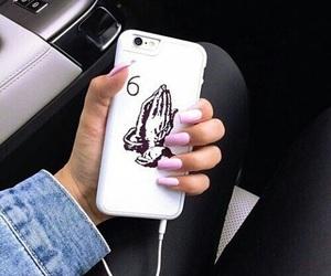 nails, Drake, and iphone image