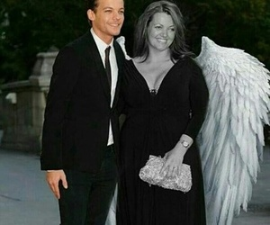 louis tomlinson, one direction, and angel image