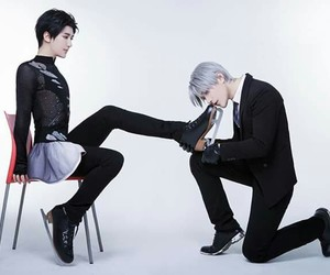 anime, victor nikiforov, and cosplay image