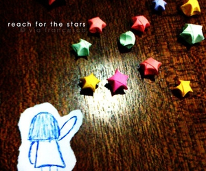 lucky stars, origami, and Paper image