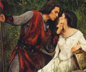 love and medieval image