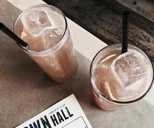 Cocktails, drinks, and ice image