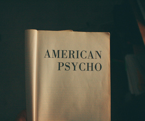 book, american psycho, and Psycho image