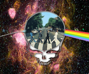 grateful dead, Pink Floyd, and psychedelic image