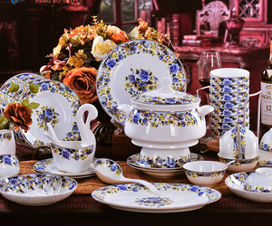 antique, china, and porcelain image
