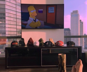 view and simpsons image