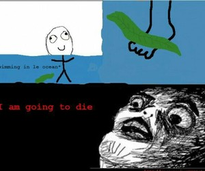 funny, lol, and die image