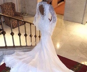 dress, luxury, and hair image