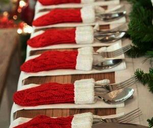 christmas, decoration, and socks image