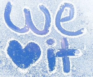 winter, snow, and we heart it image