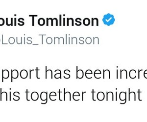 support, tweet, and 1d image