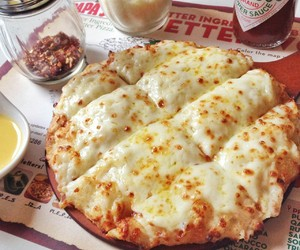 cheese, cheese pizza, and pizza image