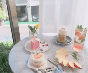 aesthetic, cake, and drink image
