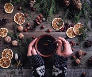 tea, christmas, and winter image