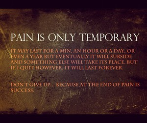 life, motivation, and pain image