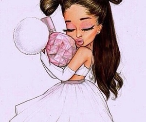 ariana grande, ari, and drawing image