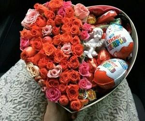 flowers, kinder, and rose image