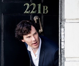 sherlock, benedict cumberbatch, and 221b image