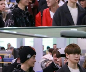airport, meme, and nct dream image