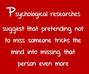 facts, psychological facts, and love image