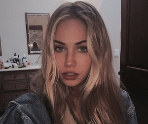 girl, blonde, and scarlett leithold image