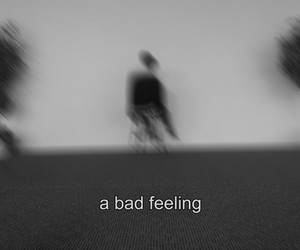 black and white, feeling, and sad image