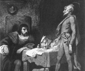 faust, goethe, and mephistopheles image