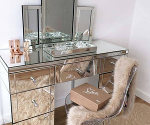 makeup, room, and luxury image