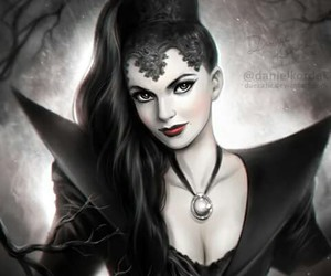 once upon a time, evil queen, and ️ouat image