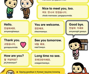 korean and learn korean image