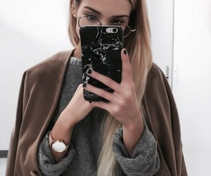 accessories, aesthetic, and coat image