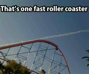 funny, Roller Coaster, and lol image